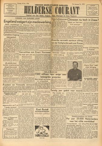 Heldersche Courant 1950-11-14