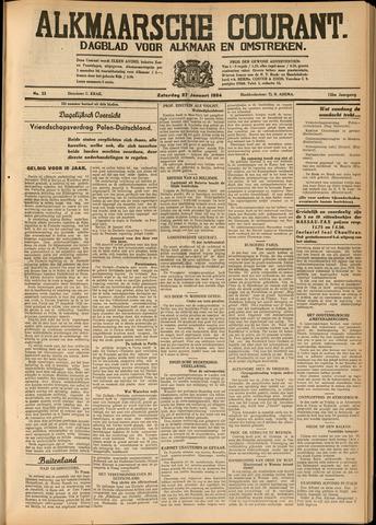 Alkmaarsche Courant 1934-01-27