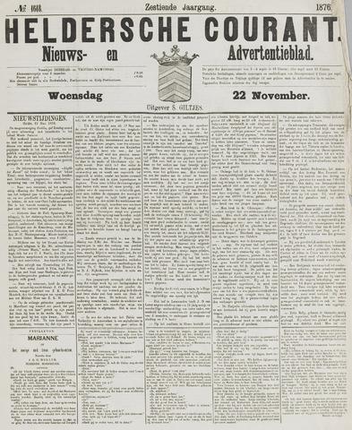 Heldersche Courant 1876-11-22