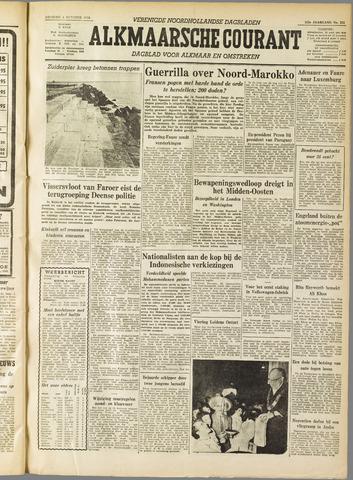 Alkmaarsche Courant 1955-10-04