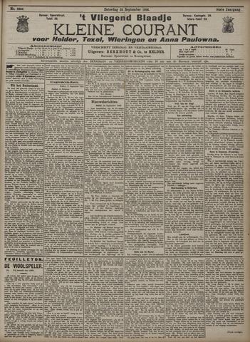 Vliegend blaadje : nieuws- en advertentiebode voor Den Helder 1906-09-22