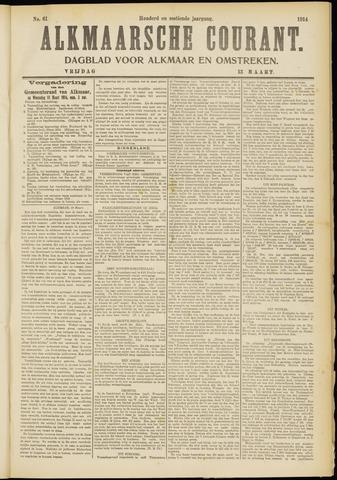 Alkmaarsche Courant 1914-03-13