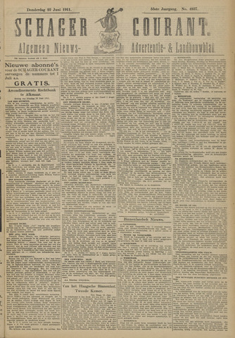 Schager Courant 1911-06-22