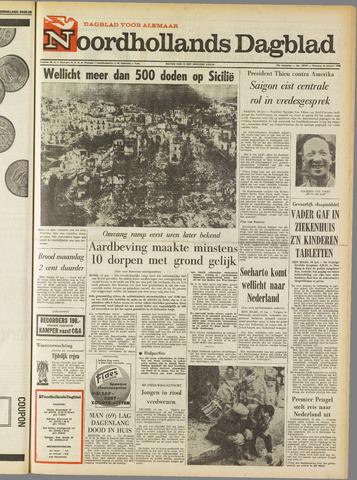 Noordhollands Dagblad : dagblad voor Alkmaar en omgeving 1968-01-16
