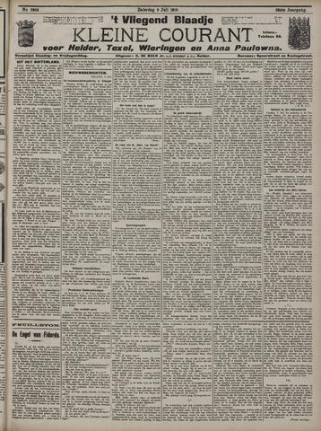 Vliegend blaadje : nieuws- en advertentiebode voor Den Helder 1910-07-09