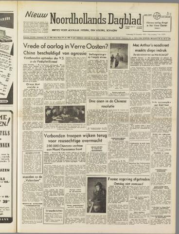 Nieuw Noordhollandsch Dagblad : voor Alkmaar en omgeving 1950-11-29