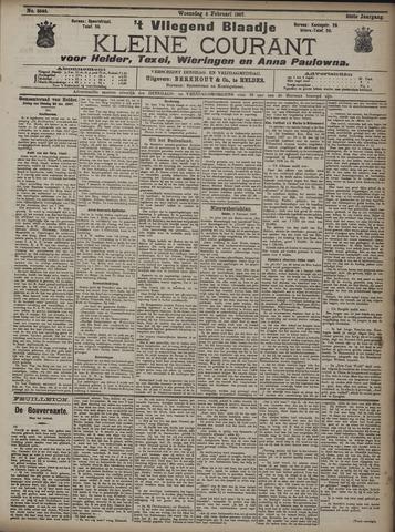 Vliegend blaadje : nieuws- en advertentiebode voor Den Helder 1907-02-06