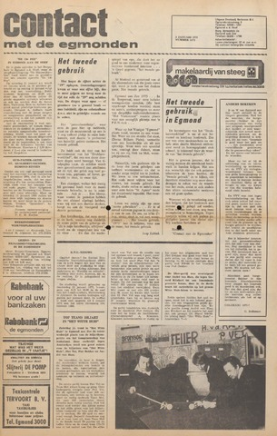 Contact met de Egmonden 1975-01-02