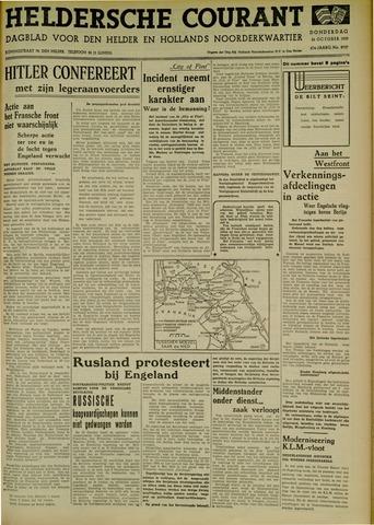 Heldersche Courant 1939-10-26
