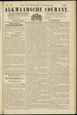 Alkmaarsche Courant 1889-11-13