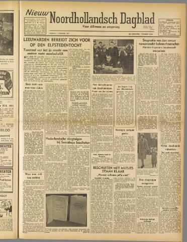 Nieuw Noordhollandsch Dagblad : voor Alkmaar en omgeving 1947-02-07