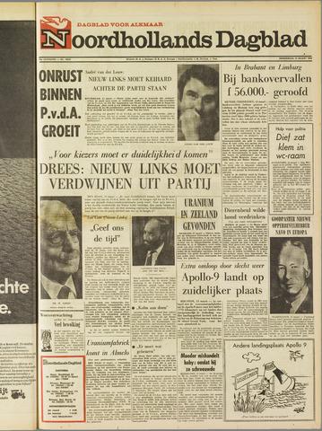 Noordhollands Dagblad : dagblad voor Alkmaar en omgeving 1969-03-13