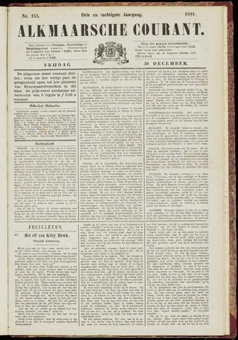 Alkmaarsche Courant 1881-12-30