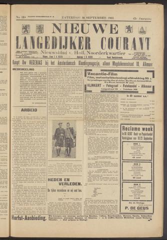 Nieuwe Langedijker Courant 1933-09-16