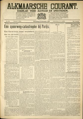 Alkmaarsche Courant 1933-12-27