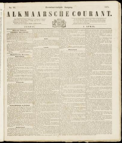 Alkmaarsche Courant 1875-04-04