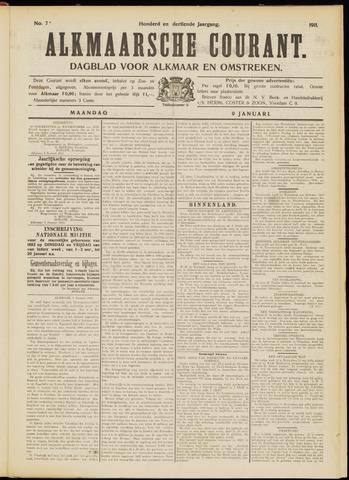 Alkmaarsche Courant 1911-01-09