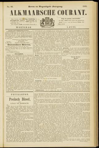 Alkmaarsche Courant 1895-06-05