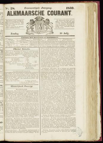 Alkmaarsche Courant 1859-07-10