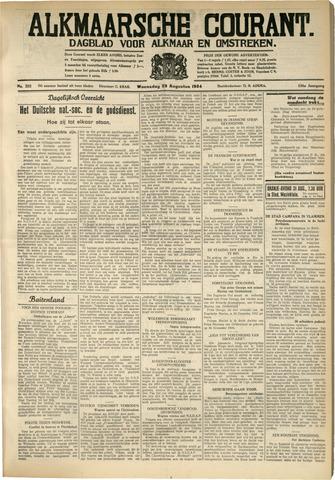 Alkmaarsche Courant 1934-08-29