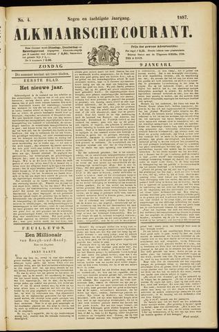 Alkmaarsche Courant 1887-01-09