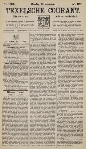 Texelsche Courant 1901-01-20