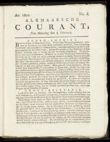 Alkmaarsche Courant 1802-02-08