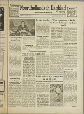 Nieuw Noordhollandsch Dagblad : voor Alkmaar en omgeving 1946-06-28