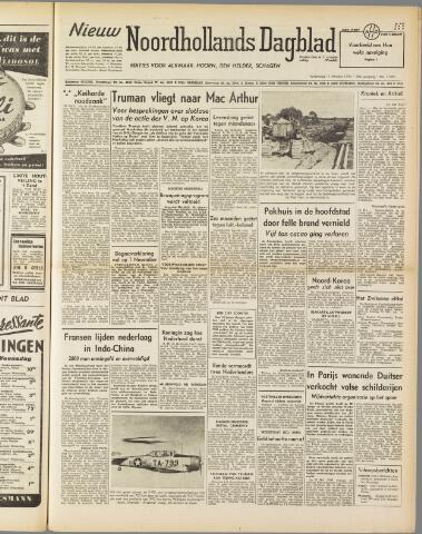 Nieuw Noordhollandsch Dagblad : voor Alkmaar en omgeving 1950-10-11