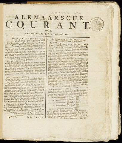Alkmaarsche Courant 1814-01-05