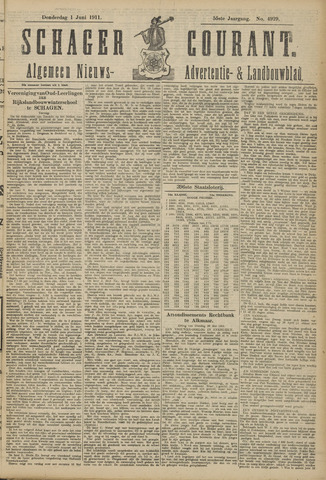 Schager Courant 1911-06-01