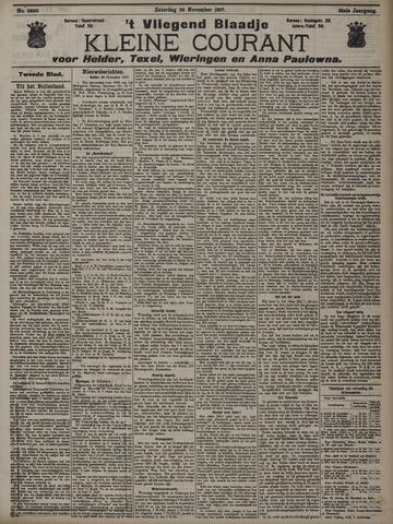 Vliegend blaadje : nieuws- en advertentiebode voor Den Helder 1907-11-30