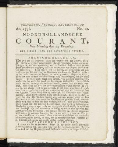 Noordhollandsche Courant 1798-12-24