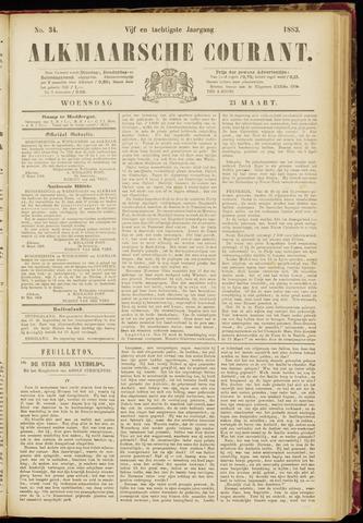 Alkmaarsche Courant 1883-03-21