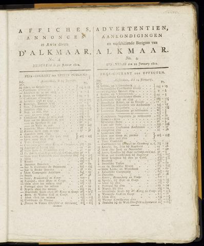 Alkmaarsche Courant 1812-01-22