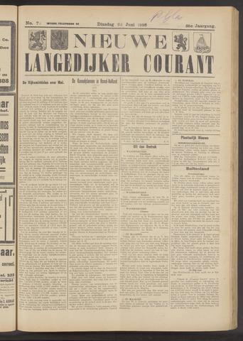 Nieuwe Langedijker Courant 1926-06-22