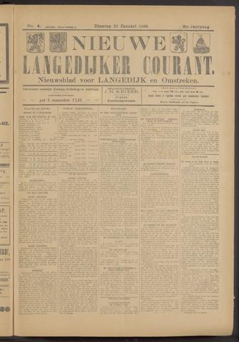 Nieuwe Langedijker Courant 1922-01-10