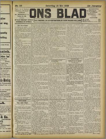 Ons Blad : katholiek nieuwsblad voor N-H 1918-05-18