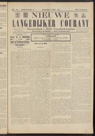 Nieuwe Langedijker Courant 1927-05-07