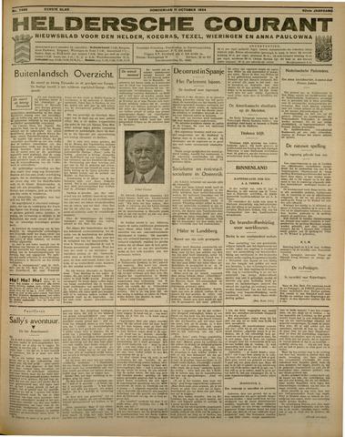 Heldersche Courant 1934-10-11