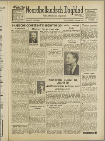 Nieuw Noordhollandsch Dagblad : voor Alkmaar en omgeving 1946-07-29