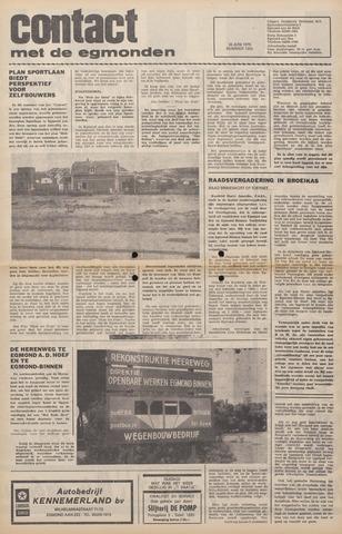 Contact met de Egmonden 1976-06-30