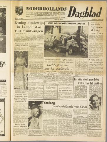 Noordhollands Dagblad : dagblad voor Alkmaar en omgeving 1960-06-30