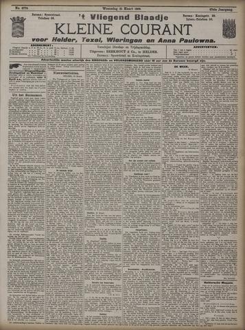 Vliegend blaadje : nieuws- en advertentiebode voor Den Helder 1909-03-31