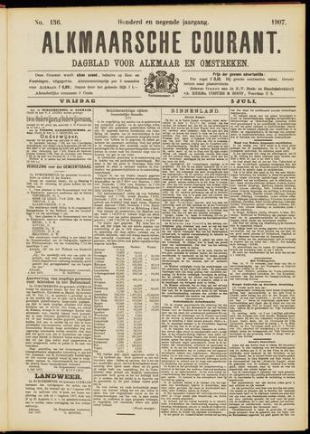 Alkmaarsche Courant 1907-07-05
