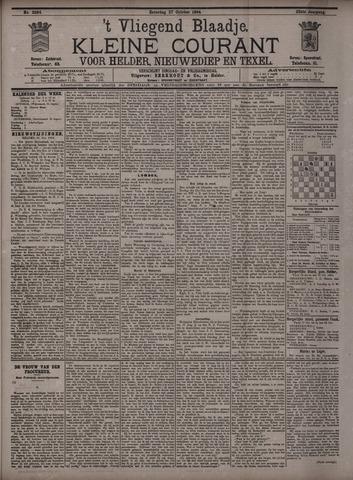 Vliegend blaadje : nieuws- en advertentiebode voor Den Helder 1894-10-27