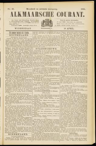Alkmaarsche Courant 1905-04-19