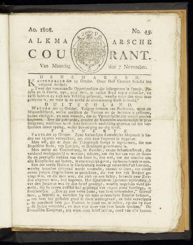 Alkmaarsche Courant 1808-11-07