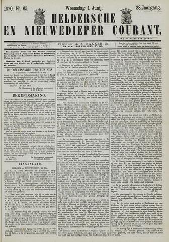 Heldersche en Nieuwedieper Courant 1870-06-01