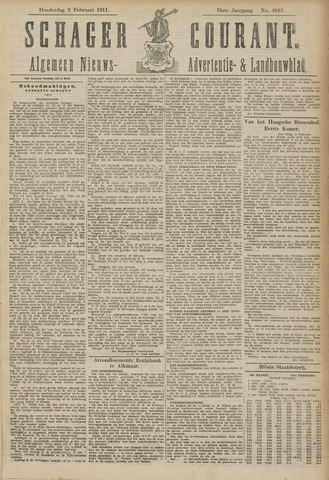 Schager Courant 1911-02-09